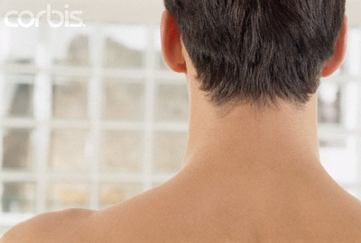 Updo for medium length hair wooried about my hairy neck ... |Hairy Back And Neck