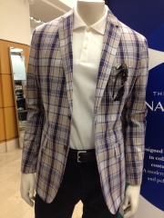banana republic mad men plaid