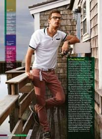 Theo James for GQ