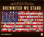 american craft beer week flag