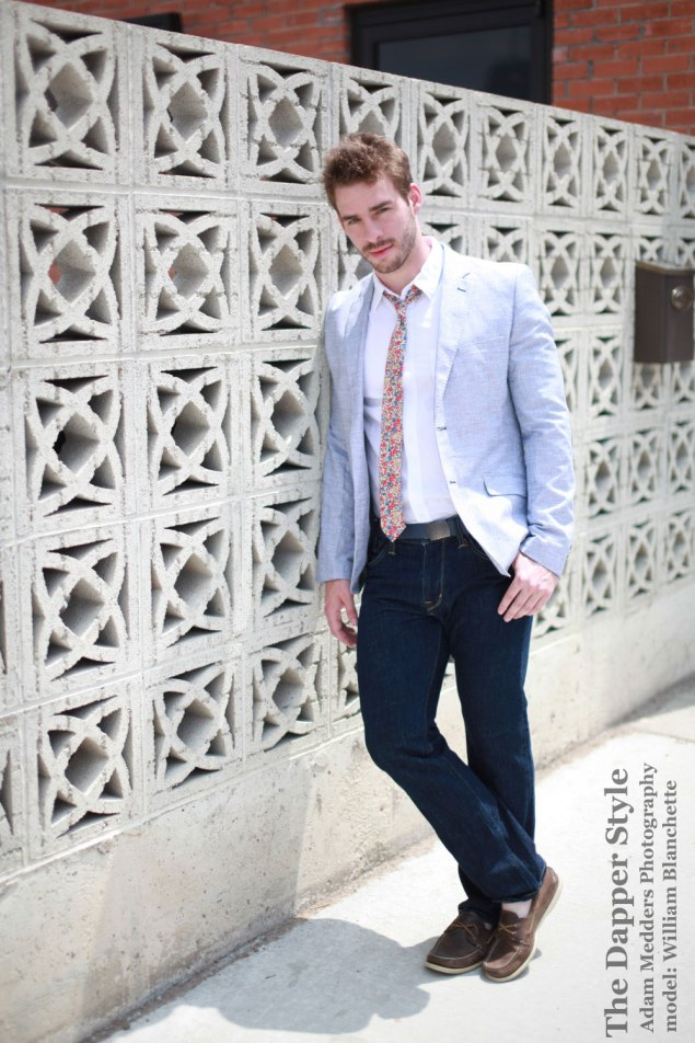 william blanchette menswear