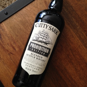 cutty sark prohibition scotch whiskey