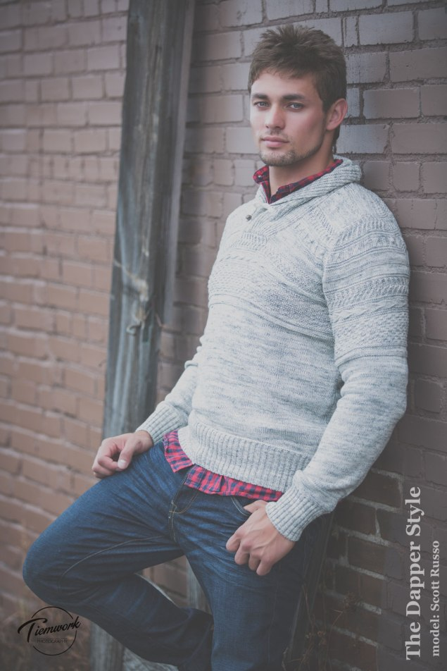 Scott Russo menswear sweater