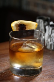 old fashioned thanksgiving cocktail