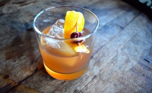 Old Fashioned Pilgrim cocktail