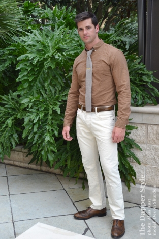 fall mocha menswear with devon shurden