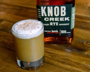 Knob Creek Old Fashioned Holiday cocktail