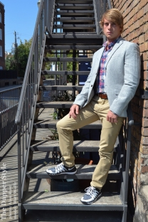 menswear casual dapper matt wolfe