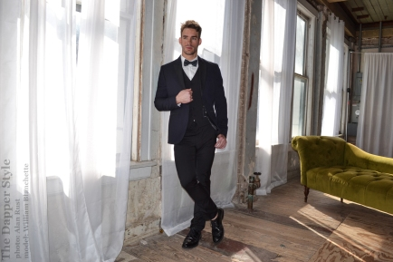 dapper style william blanchette new years party style