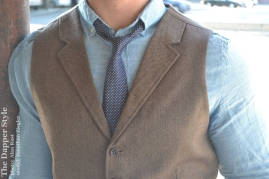 dapper vest and tie