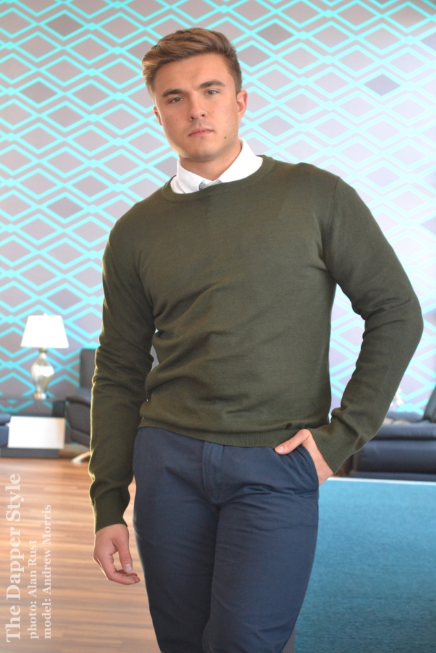 dapper sweater style andrew morris