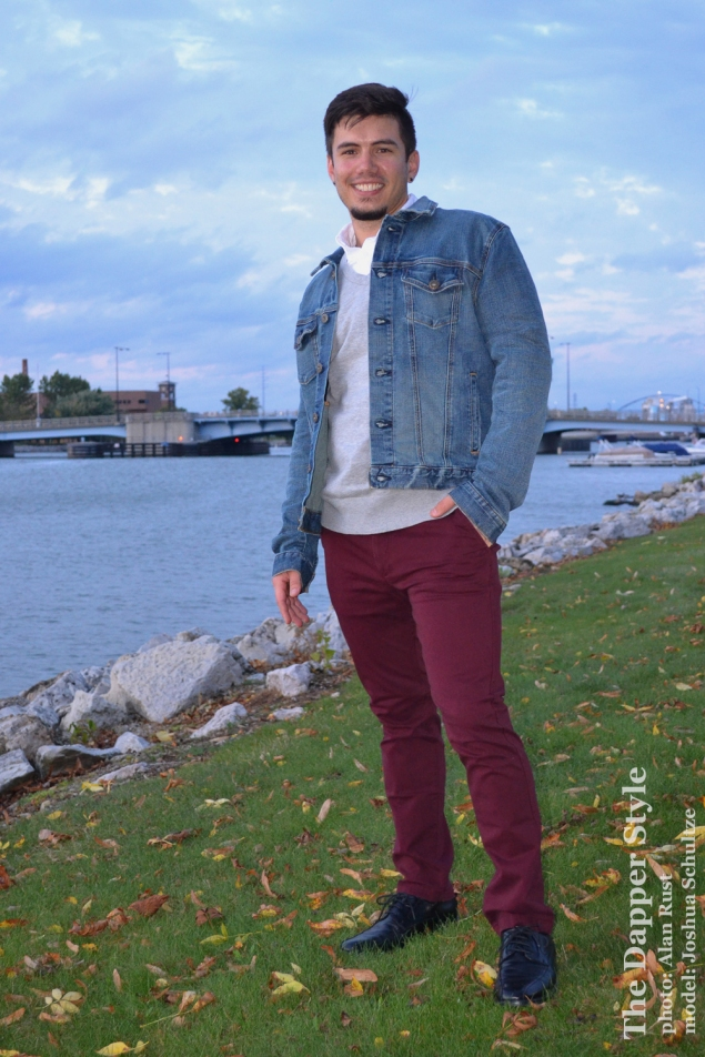 joshua schultze layers of fall style in green bay