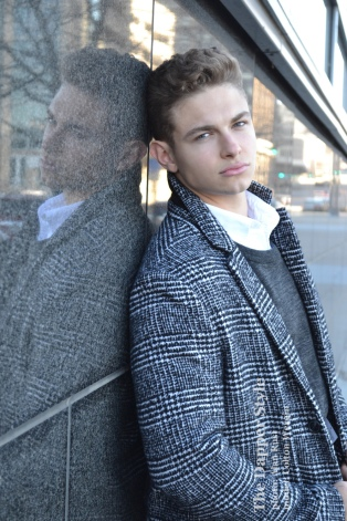 colton wergin male model menswear