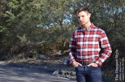 troy mccune fall flannel plaid