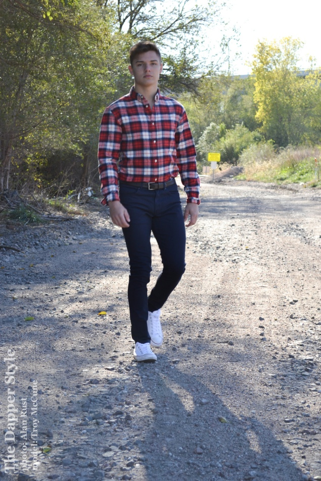 troy mccune fall plaid