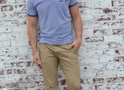 nate dapper polo shirt menswear