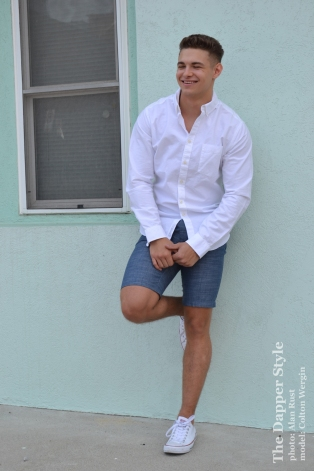 white casual summer
