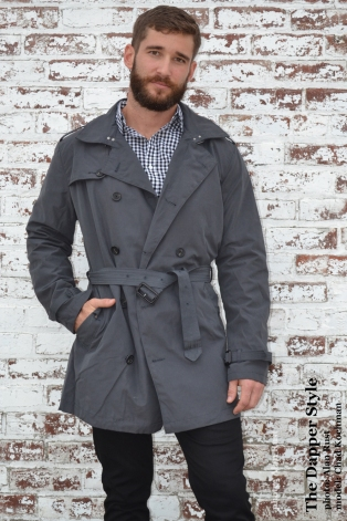 chad-grey trench coat
