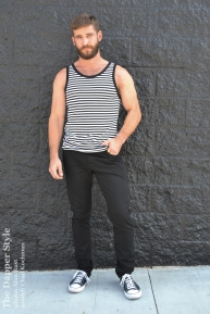 chad-stripe tank