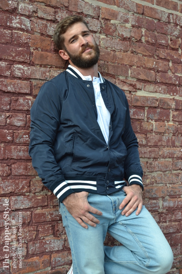 chad baseball jacket