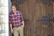 nate fall plaid menswear shirt