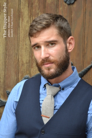 chad vest and tie menswear